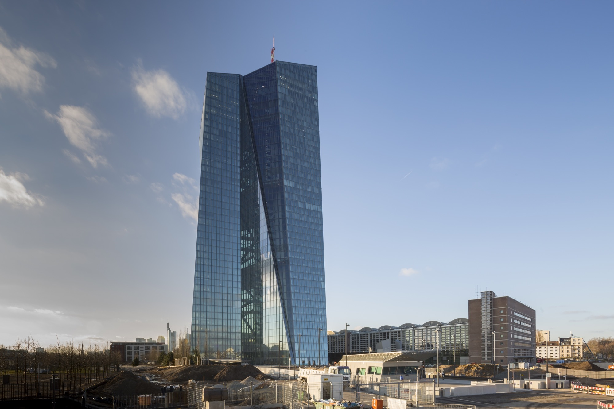 Gallery Of European Central Bank Coop Himmelb L Au 12
