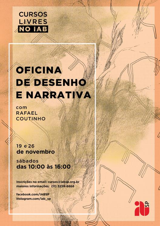 OFICINA DE DESENHO E NARRATIVA com Rafael Coutinho, desenho: rafael coutinho