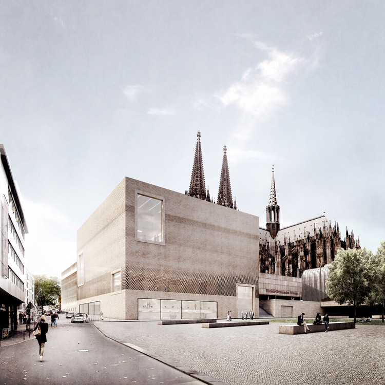 Staab Architekten Unveils Planning Designs for Cologne Historic Center, © Stab Architekten