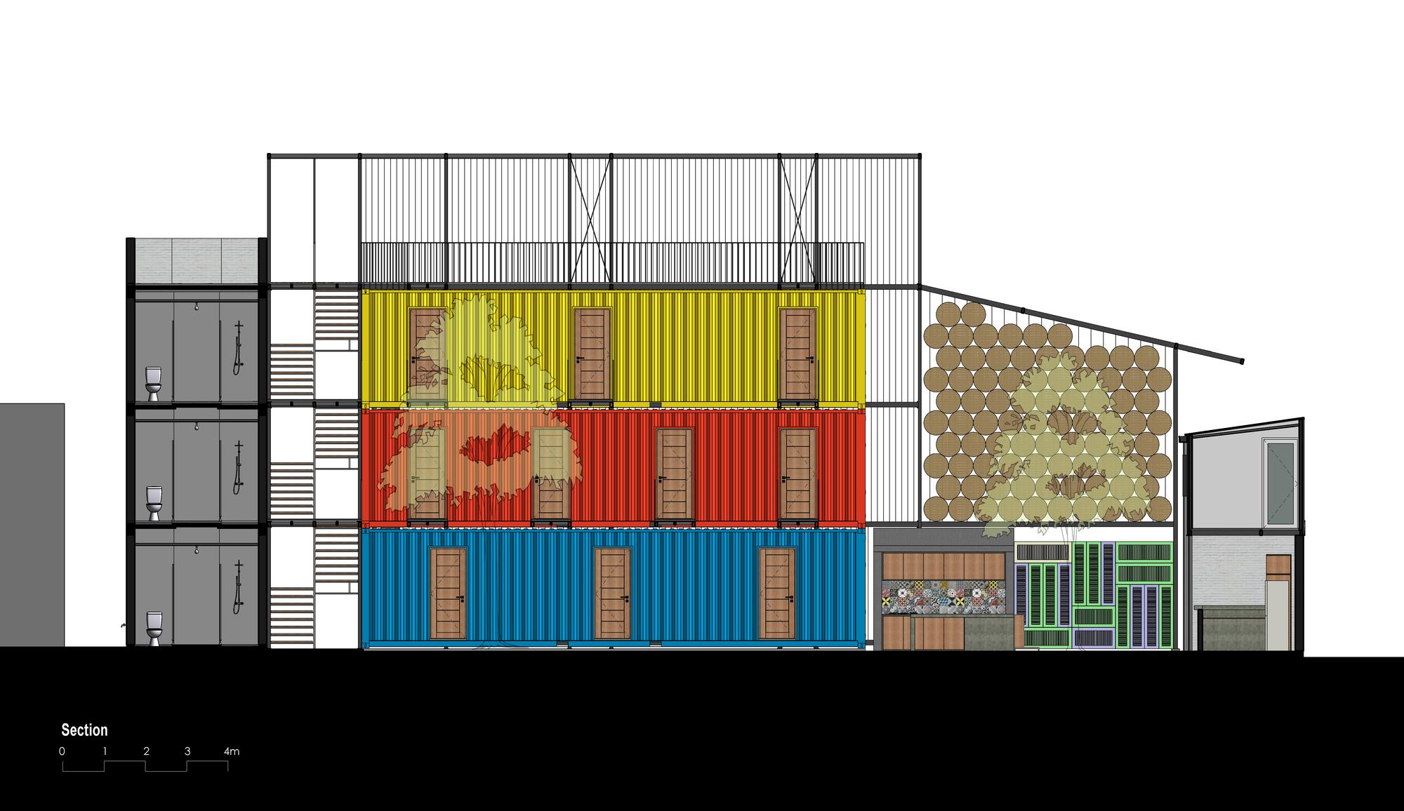 Galeria De Ccasa Hostel Tak Architects 37