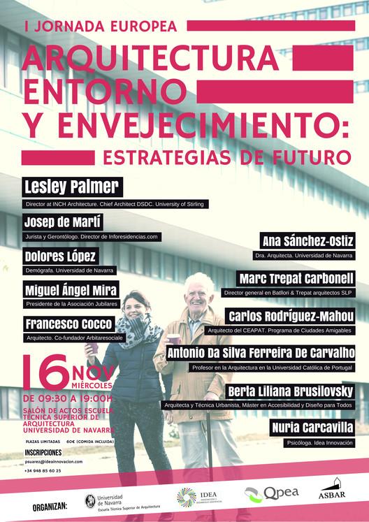 I Jornada Europea: Arquitectura, Entorno y Envejecimiento, Cortesía de Unknown