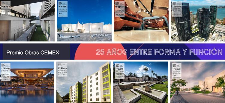 Ganadores de la edición México del Premio Obras CEMEX 2016, Cortesía de CEMEX