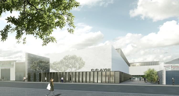 Roberto Riofrío y Jaime Sarmiento ganan concurso de ideas arquitectónicas para diseño del Centro Cultural de Cusco, Cortesía de Roberto Riofrío Navarro