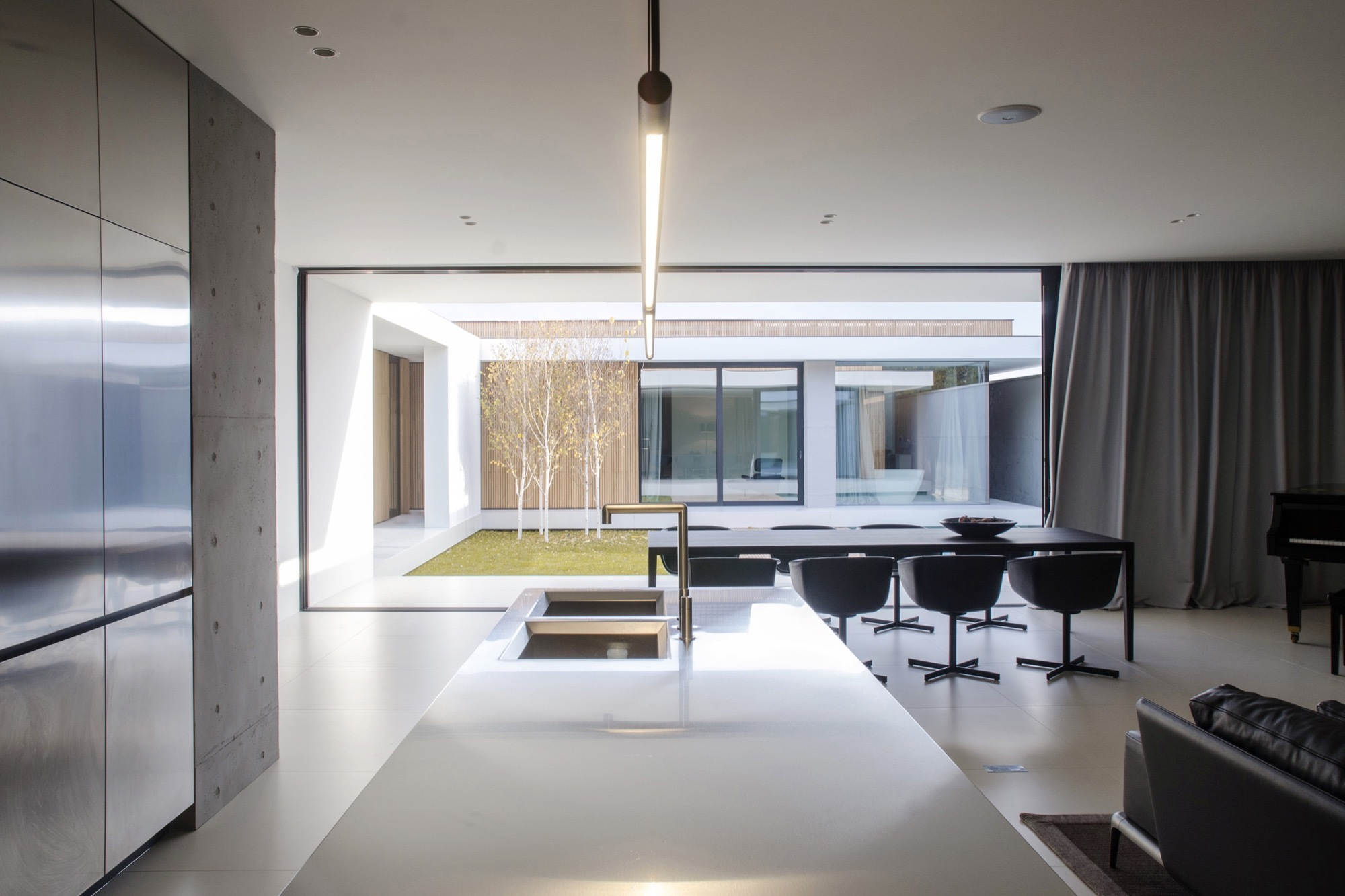Piano Bar Per Casa piano house / line architects | archdaily