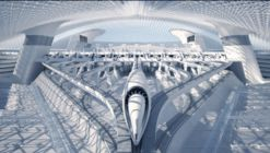 RB Systems Proposes Cutting-Edge Hyperloop Station