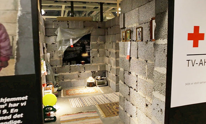 IKEA Recreates Syrian Home Inside their Store in Efforts to Aid Refugee Crisis, via POL