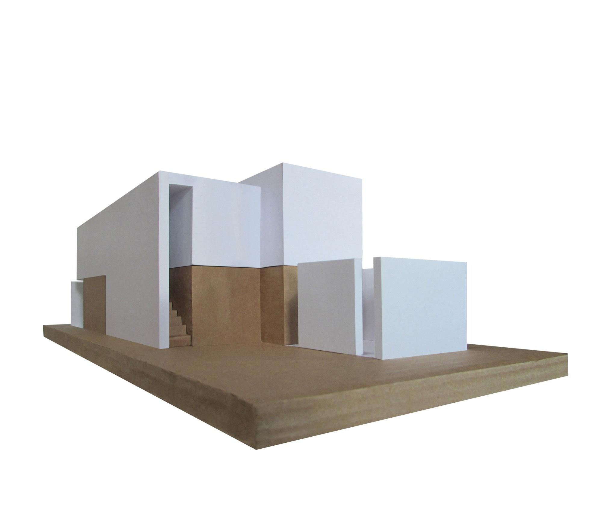 Galer a de casa estudio intersticial arquitectura 24 for Casa estudio arquitectura