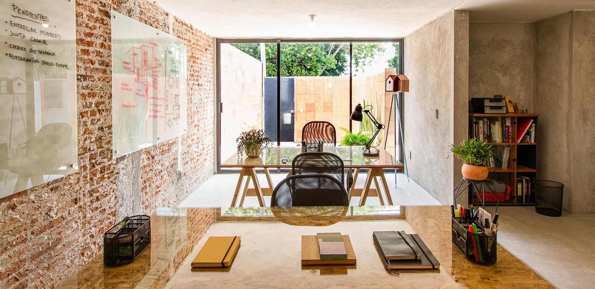 Gallery of casa estudio intersticial arquitectura 12 for Casa estudio arquitectura