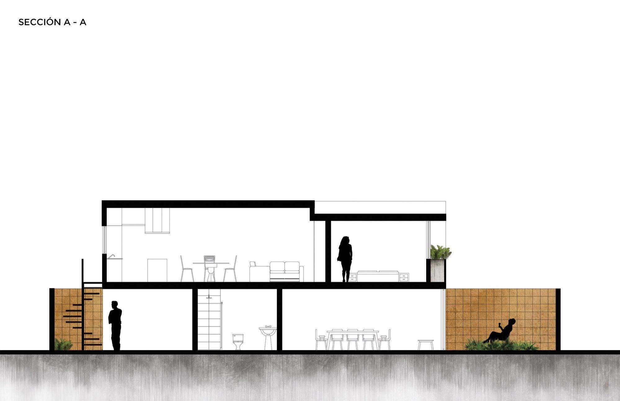 Gallery of casa estudio intersticial arquitectura 17 for Casa estudio arquitectura