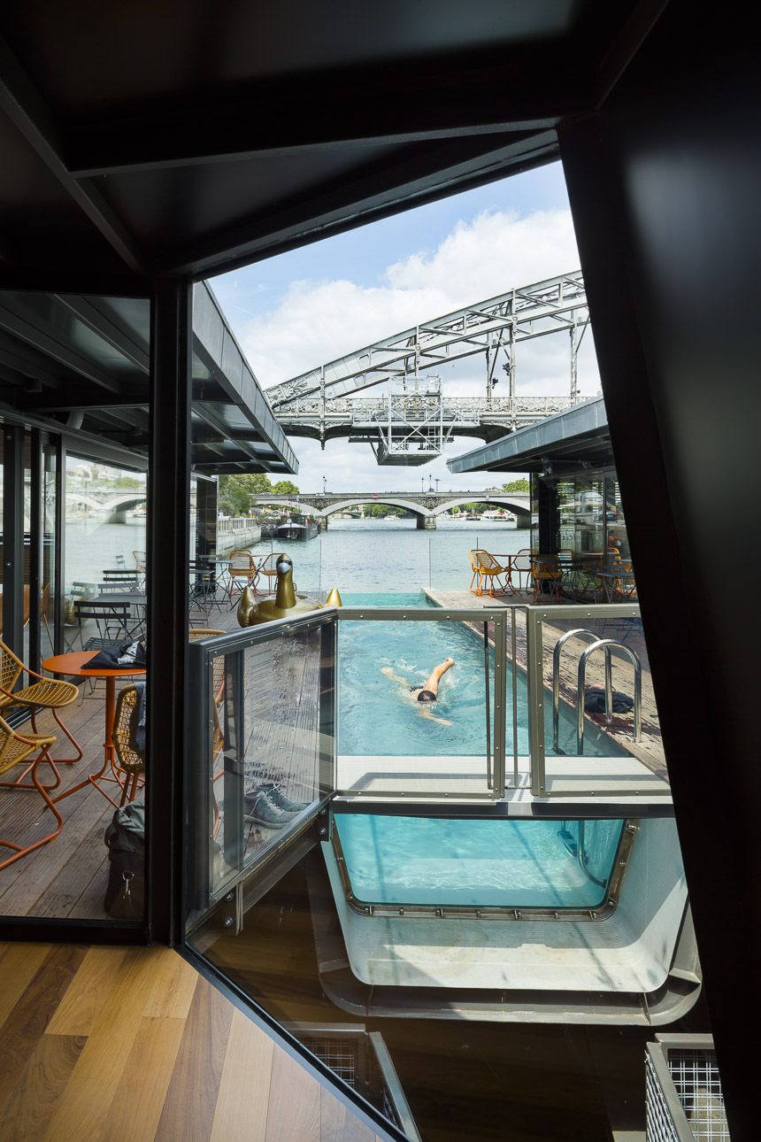 Hotel flotante seine design archdaily colombia for Hotel design 2h de paris