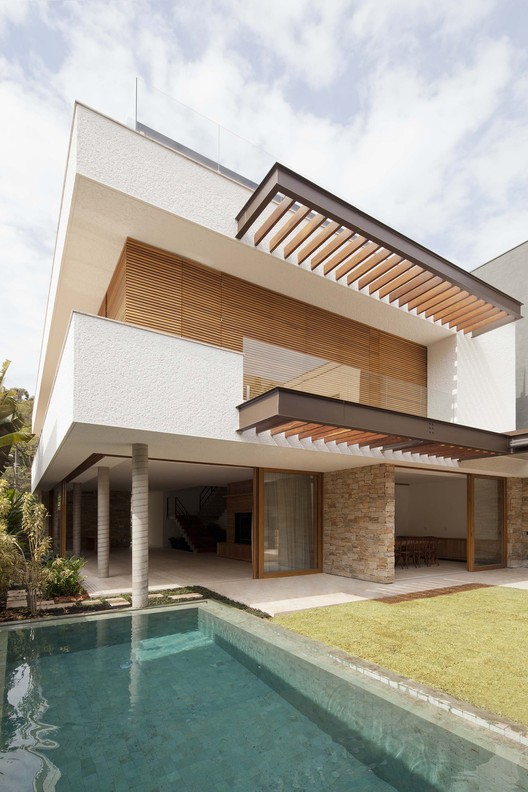 Residência Ibirapuera  / Vasco Lopes Arquitetura, © Maira Acayaba