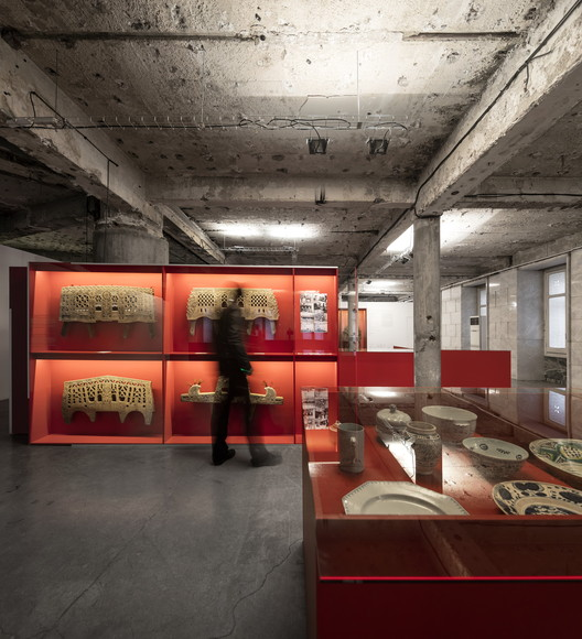 """Exposição """"Museu Infinito"""" / Miguel Vieira Baptista, © Fernando Guerra FG+SG"""