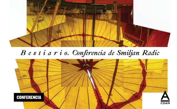 Bestiario: conferencia de Smiljan Radic en Madrid, COAM