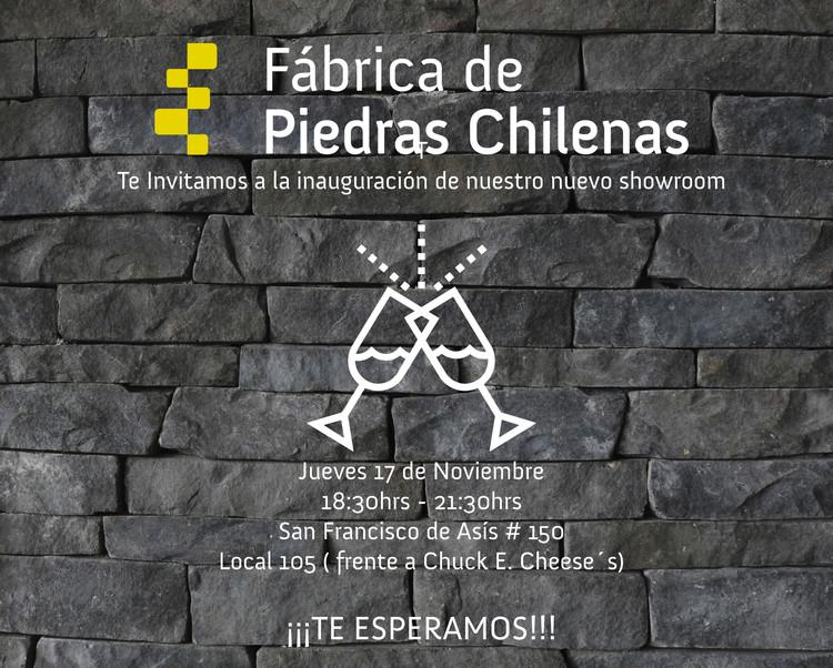 Inauguracion: showroom Fábrica de Piedras Chilenas, Cortesía de Unknown