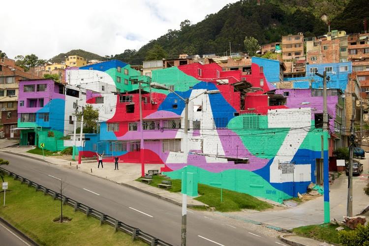 Paz, a mensagem de esperança de Outsiders Krew em Bogotá, © Outsiders Krew