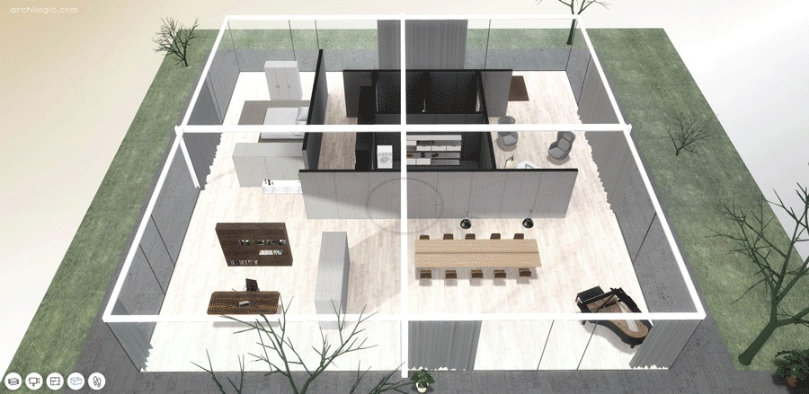 A Virtual Look Into Mies Van Der Rohe S Core House Archdaily