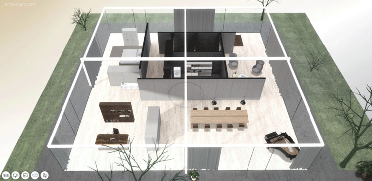 A Virtual Look Into Mies van der Rohe's Core House, Courtesy of Archilogic