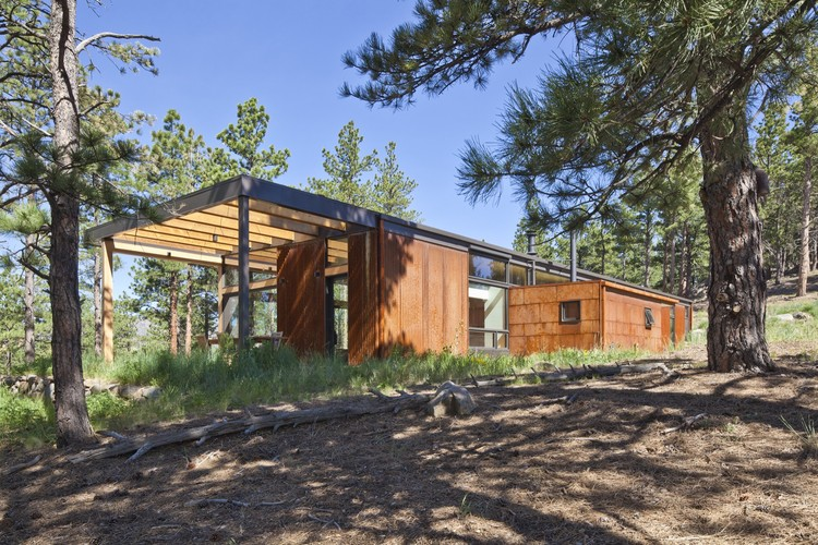 Boulder Cabin / Dynia Architects, © Ron Johnson