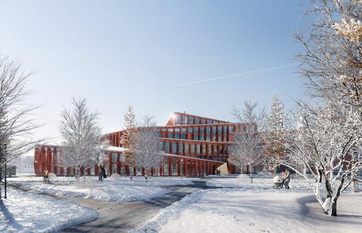 Courtesy of Liljewall architects