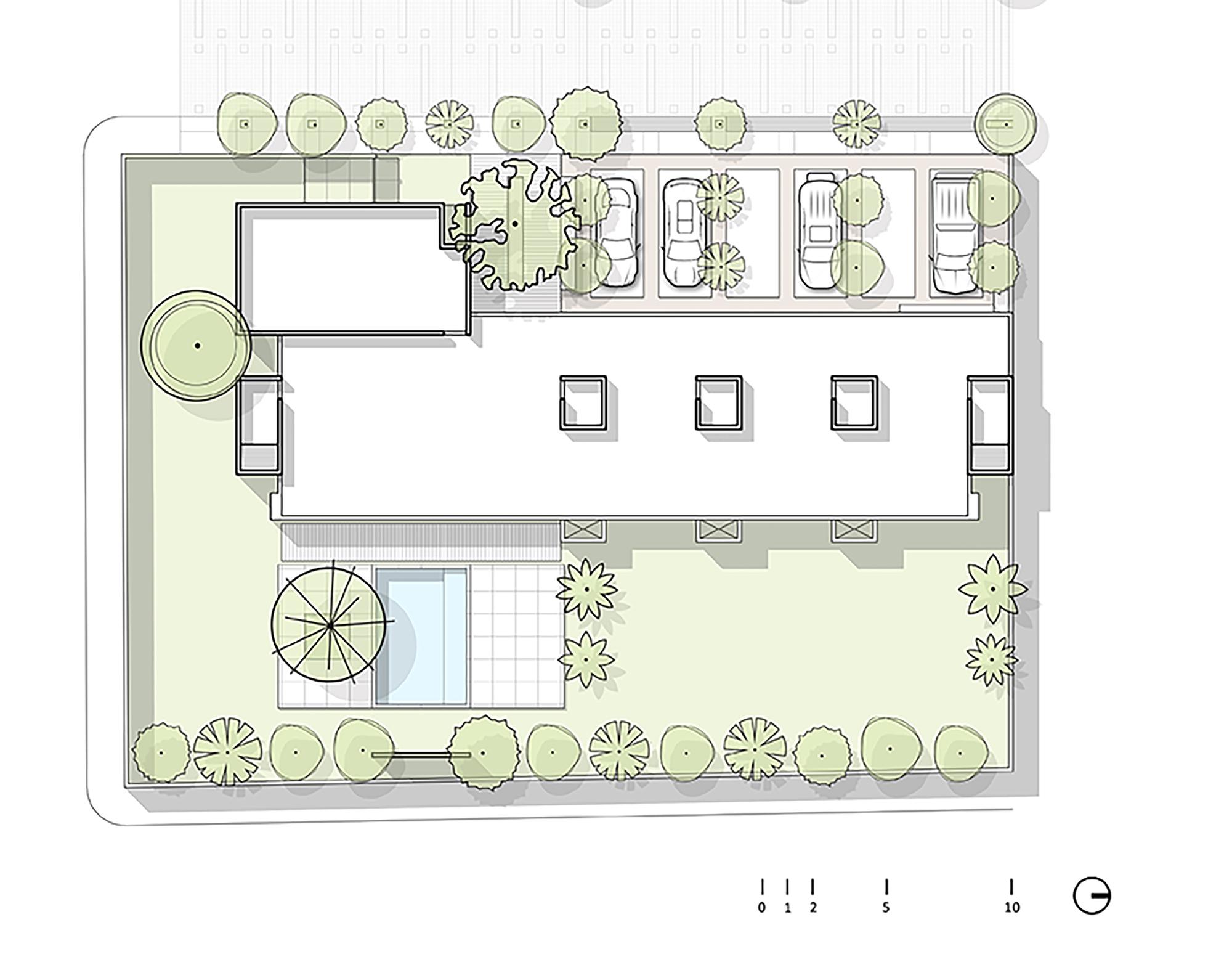 Galeria de resid ncia de mauito e pato mauricio gallegos for Plantas de colegios arquitectura