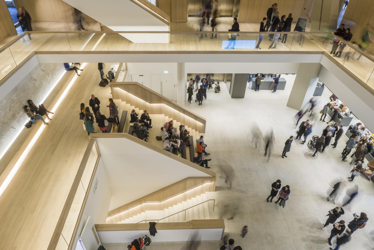 Study John Pawsonu0027s Interiors Of The New London Design Museum,© Gareth  Gardner