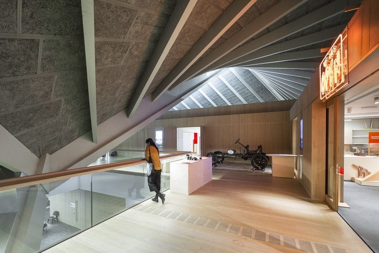 Museo del dise o de londres oma allies and morrison for Museum designers
