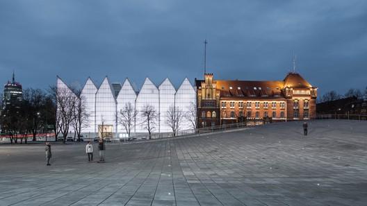 National Museum in Szczecin - Dialogue Centre Przełomy / Robert Konieczny + KWK Promes. Image via World Architecture Festival