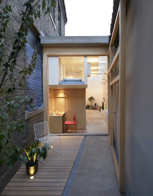 Dengshikou Hutong Residence / B.L.U.E. Architecture Studio, © Ruijing Photo
