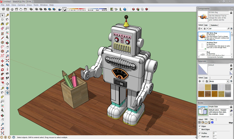 10 Awesome Sketchup Plugins That Will Up Your Modeling Game (Explained With GIFs), © Wikipedia user: Takuro1202, bajo licencia CC BY-SA 3.0