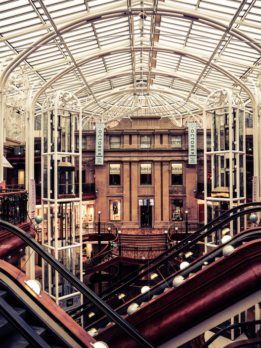 Hugh Martin & Partners' Princes Square Named Scotland's Building of the Century, © Jean O'Reilly