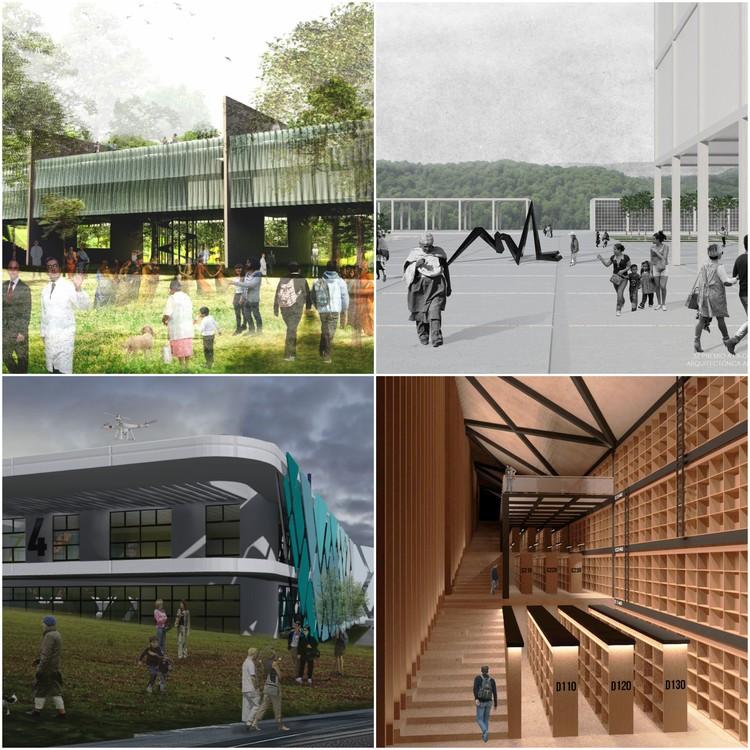 Estudiantes mexicanos finalistas del Premio a la Composición Arquitectónica 'Alberto J. Pani 2016', Cortesía de ASINEA