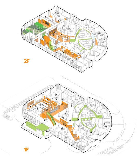 The Garden Of Forking Paths Officeproject Archdaily