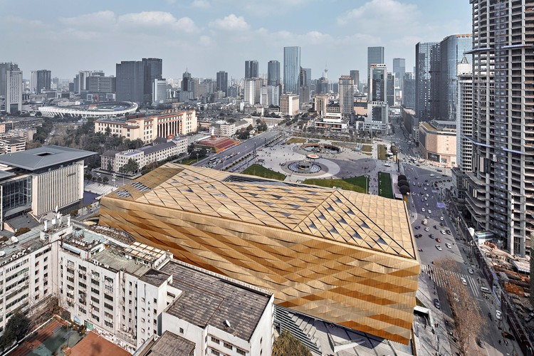 Chengdu Museum / Sutherland Hussey Harris, © ARCH-EXIST