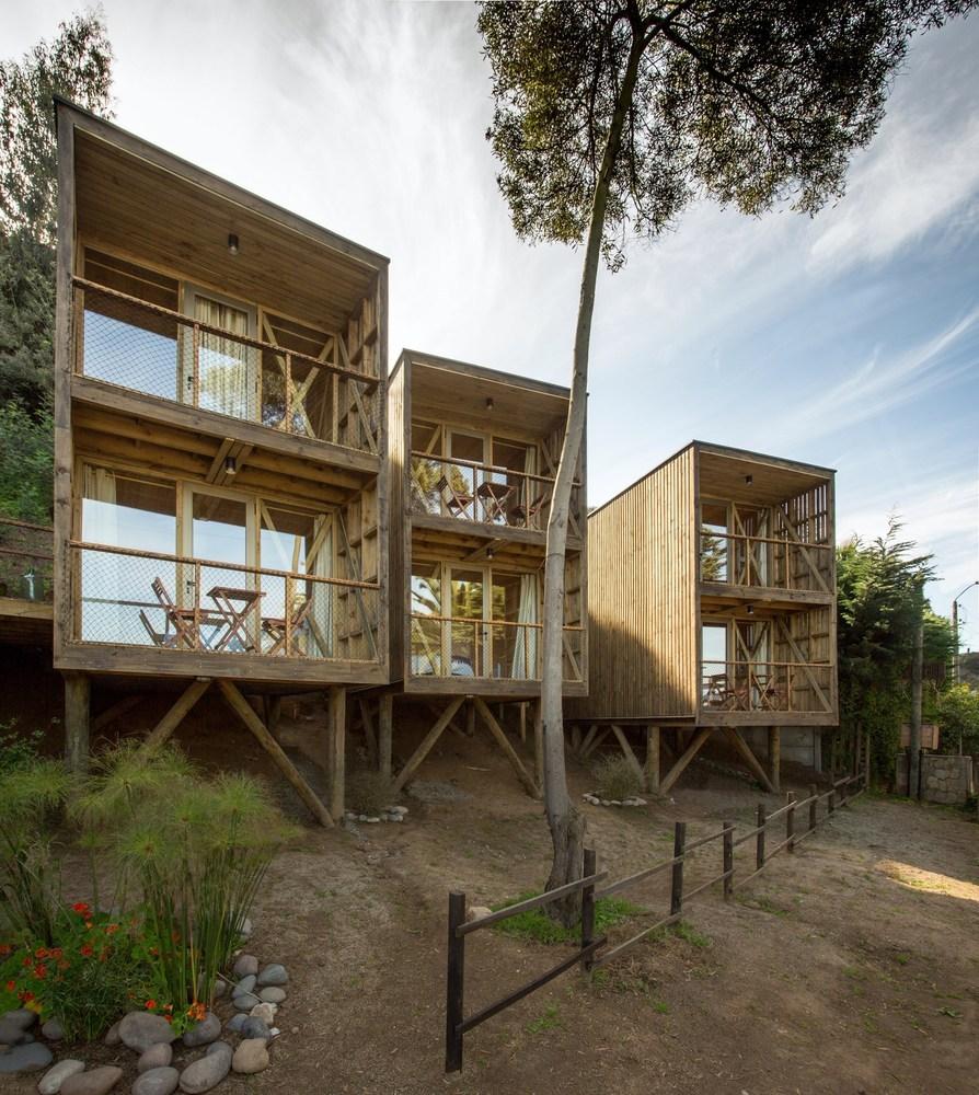 Galer a de 50 detalles constructivos de arquitectura en for Arquitectura de madera
