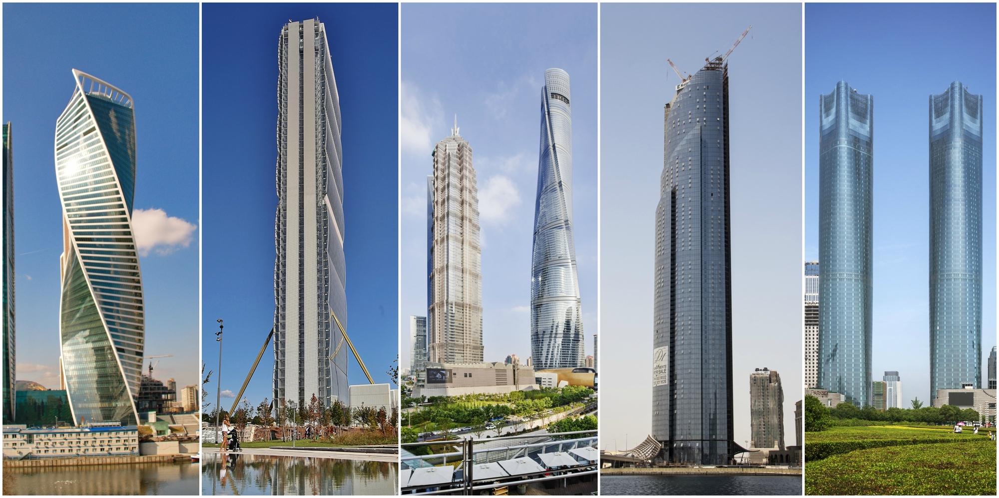 Burj Khalifa Height >> Shanghai Tower Wins 2015 Emporis Skyscraper Award | ArchDaily