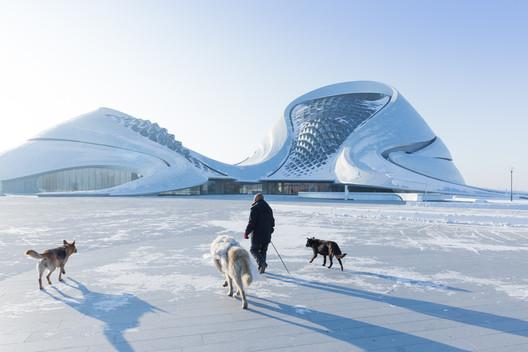 Harbin Opera House. Image © Iwan Baan