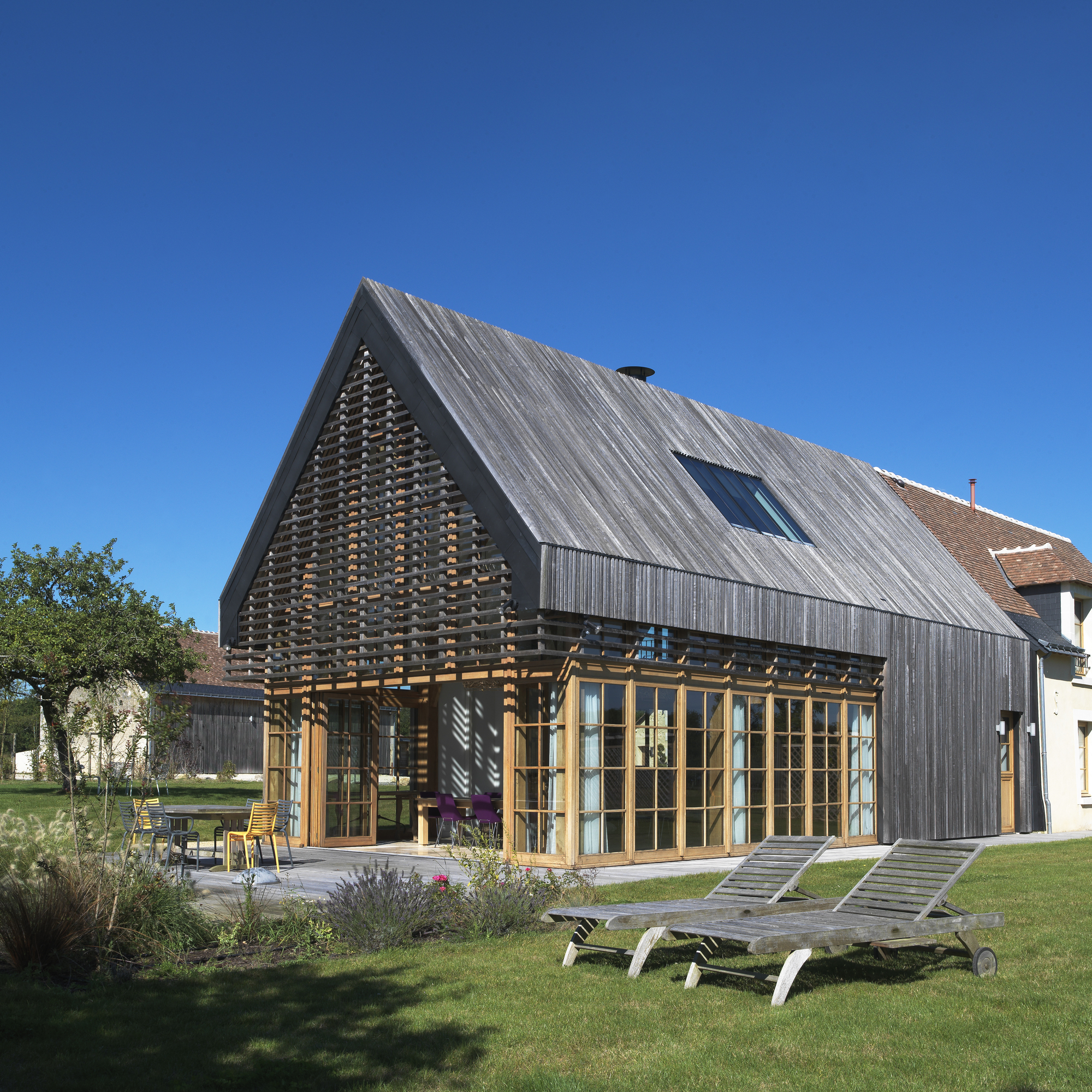 Prépinson, Rehabilitation Of Four Traditional Houses / WAW