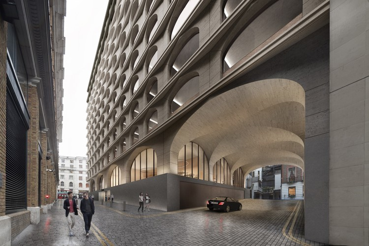 Adjaye Associates Designs Mixed-Use Building Near London's Trafalgar Square, Courtesy of Adjaye Associates