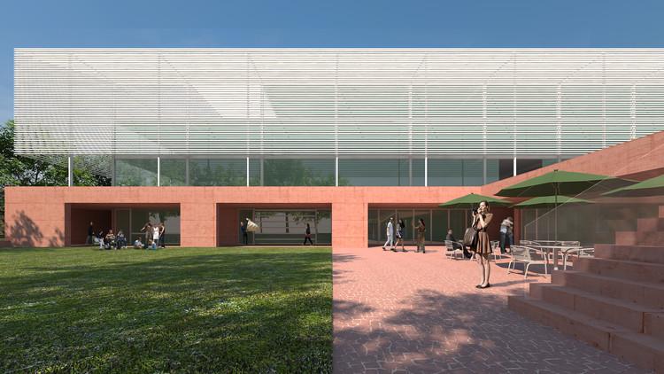 Segundo lugar no concurso nacional para a nova sede do CAU/BR + IAB/DF, Cortesia de Arquea Arquitetos
