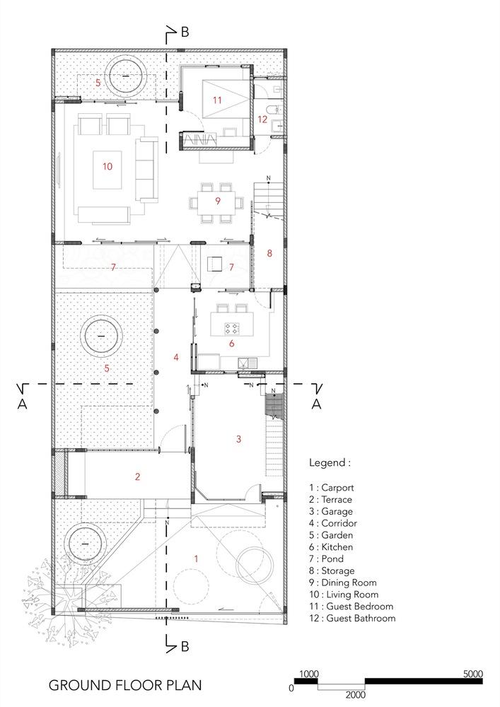 sunter metro residenceground floor plan - Ground Floor Plans House