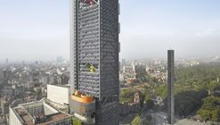 Torre BBVA Bancomer / LEGORRETA + LEGORRETA + Rogers Stirk Harbour + Partners