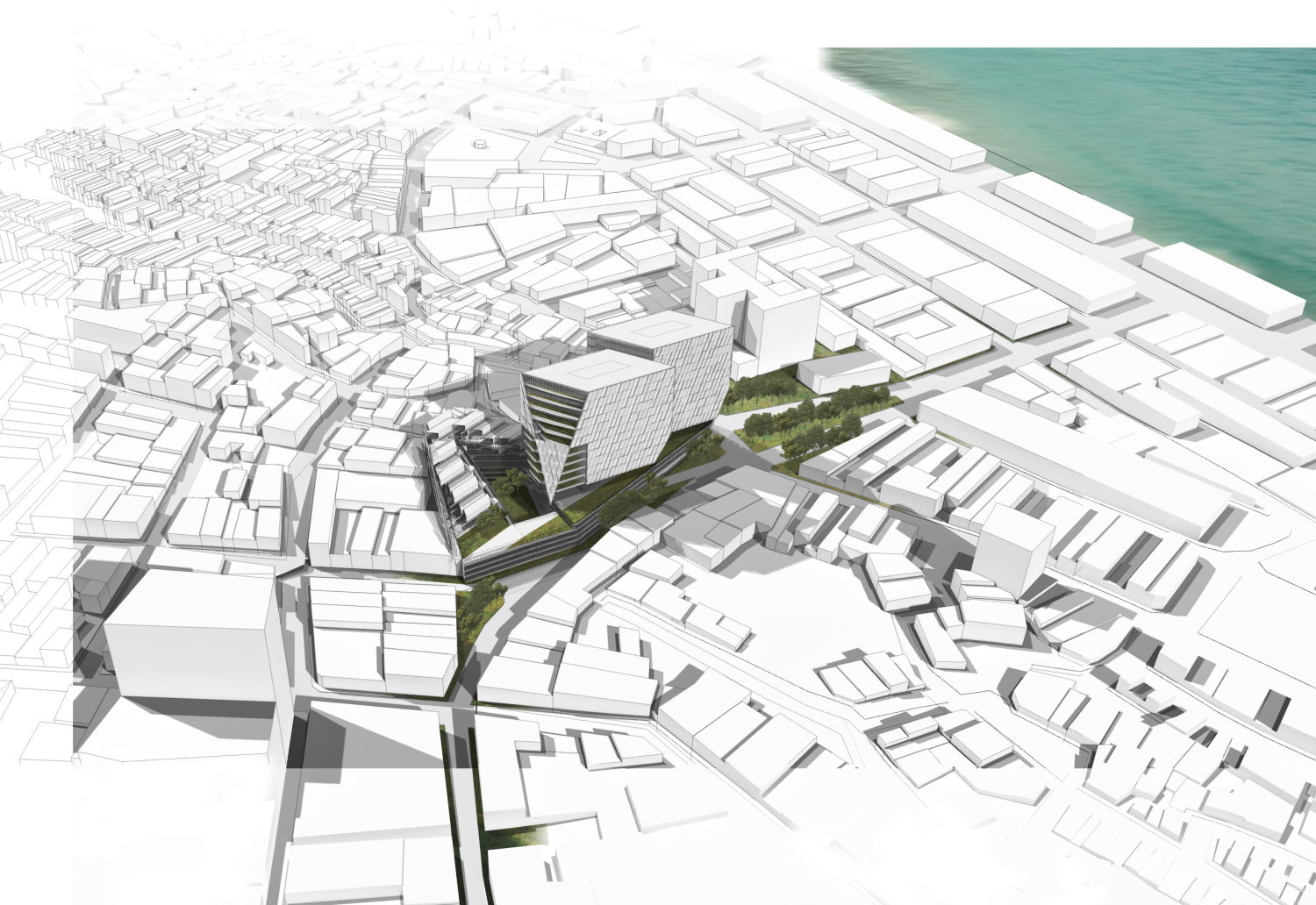 Gallery Of Cannon Design Releases Plans For Mixed Use