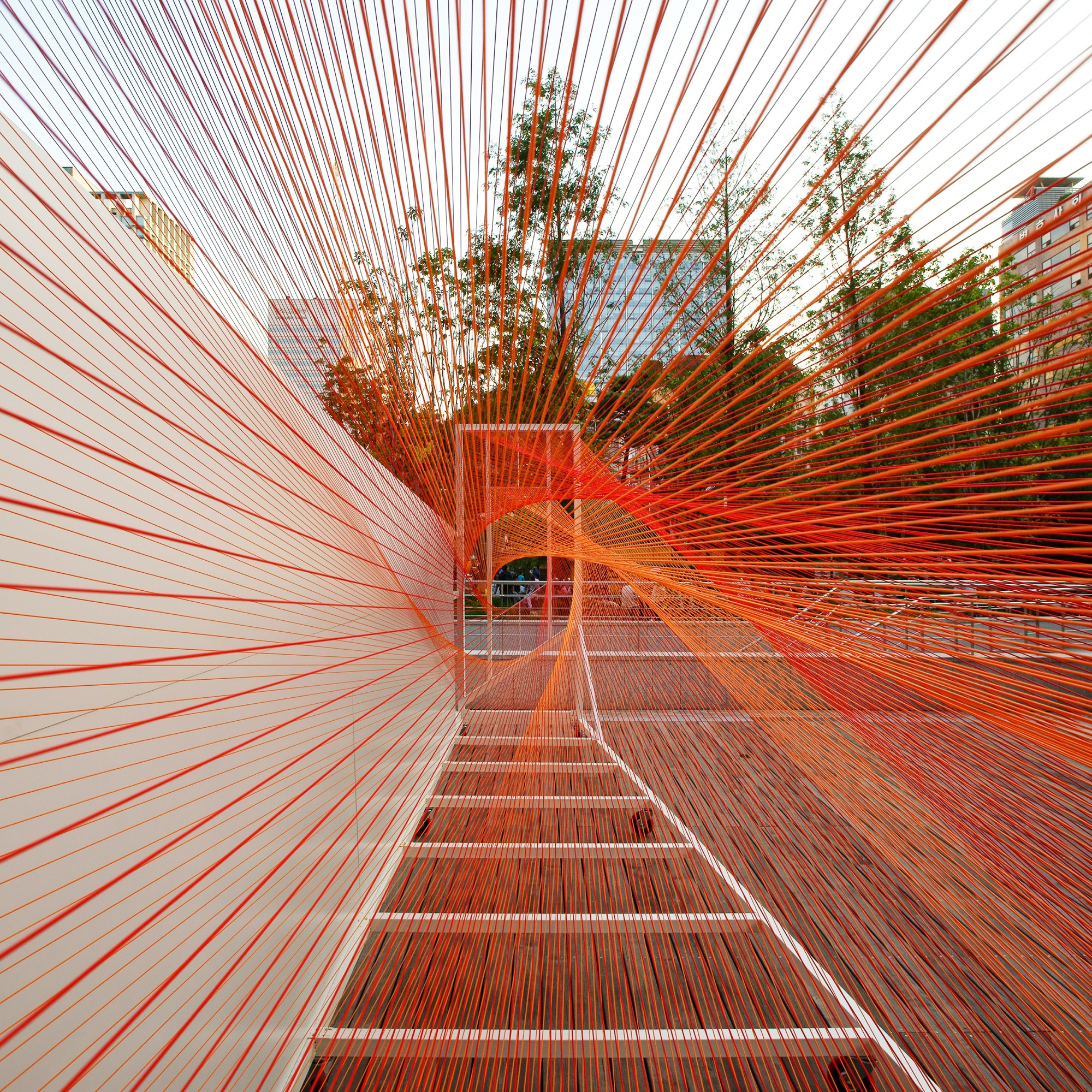 autumn art breeze at sejong art center boundaries architects