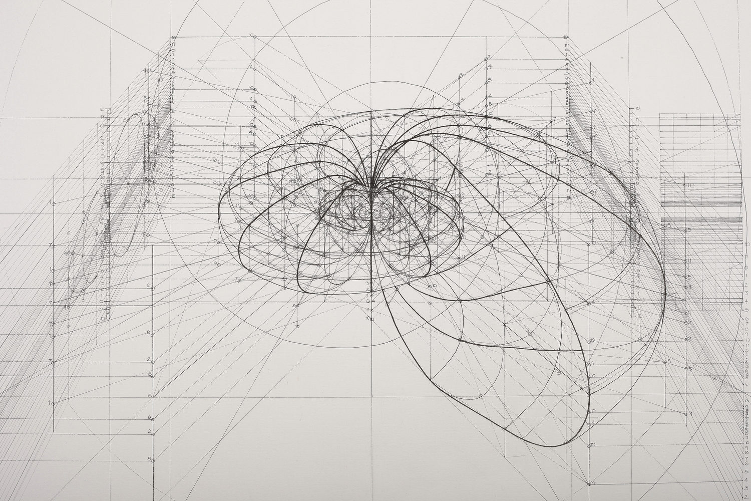 This Architect Fuses Art And Science By Hand Illustrating The Golden RatioCourtesy Of Rafael