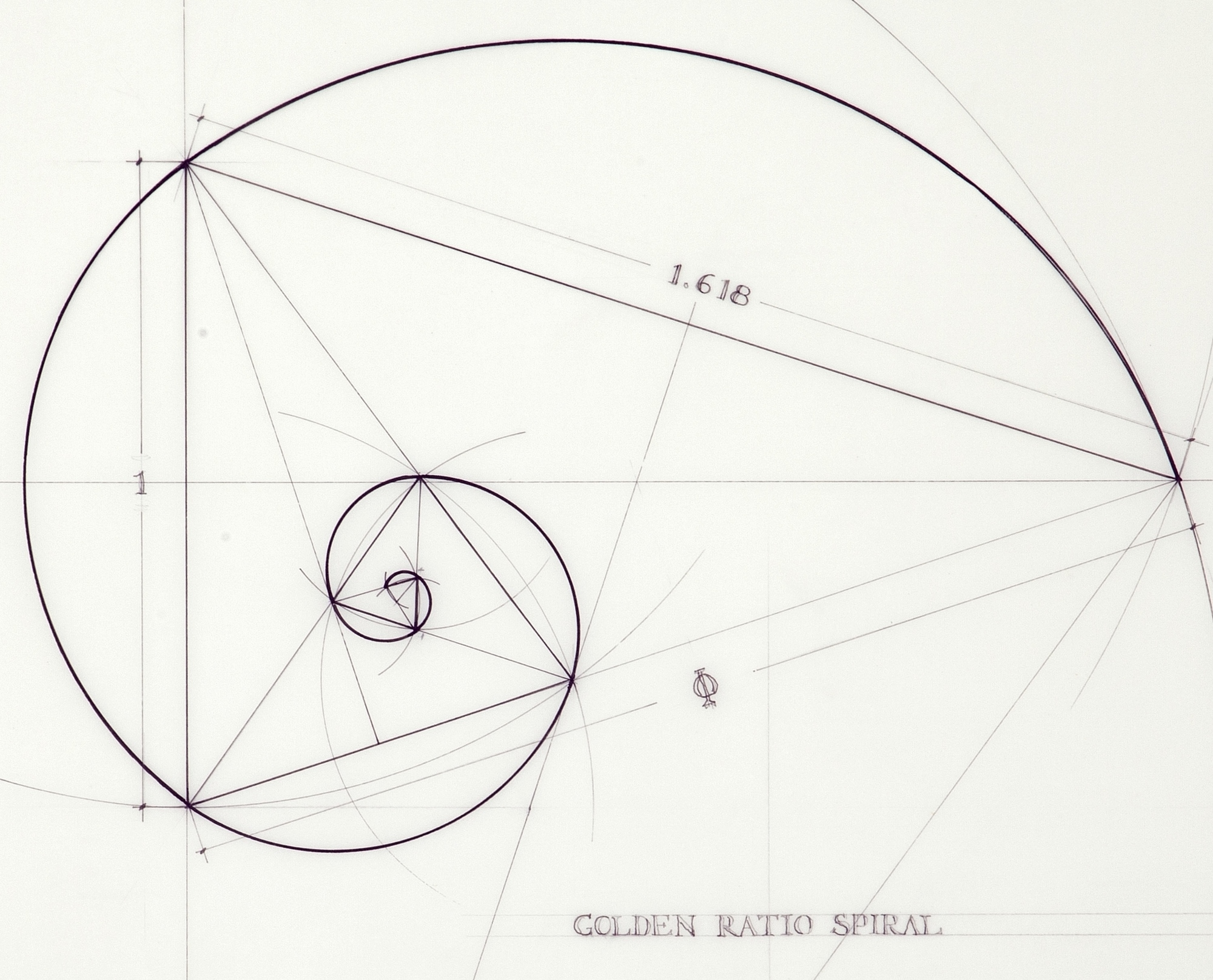 Gallery of this architect fuses art and science by hand for Golden ratio artwork