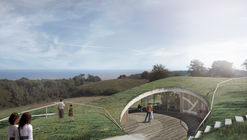 CEBRA to Design Green-Roofed, Underground Visitor Center in Southern Denmark