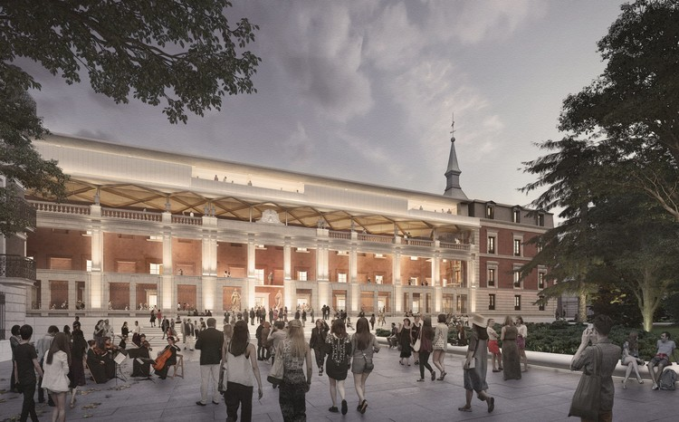 Norman Foster Selected To Remodel Museo del Prado Hall of Realms in Spain, © Foster + Partners