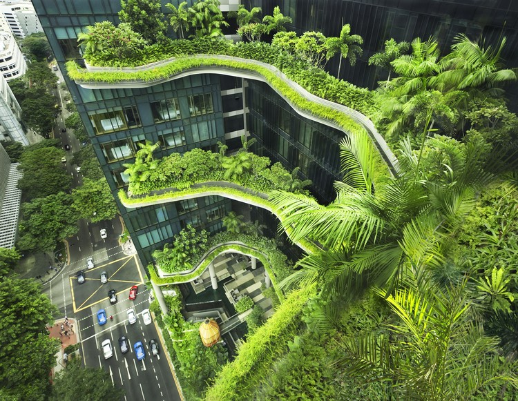 "Interview with WOHA: ""The Only Way to Preserve Nature is to Integrate it into Our Built Environment"", PARKROYAL on Pickering, Singapore. Image © Patrick Bingham Hall"