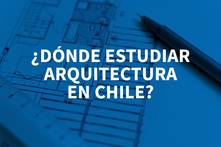 ¿Dónde estudiar Arquitectura en Chile en 2017?, Cortesía de Lorenzo Cafaro, bajo licencia CC0 [Imagen base]