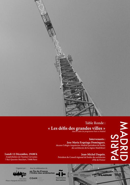 Mesa Redonda 'Los desafíos de las grandes ciudades', Design Graphic Awithñ